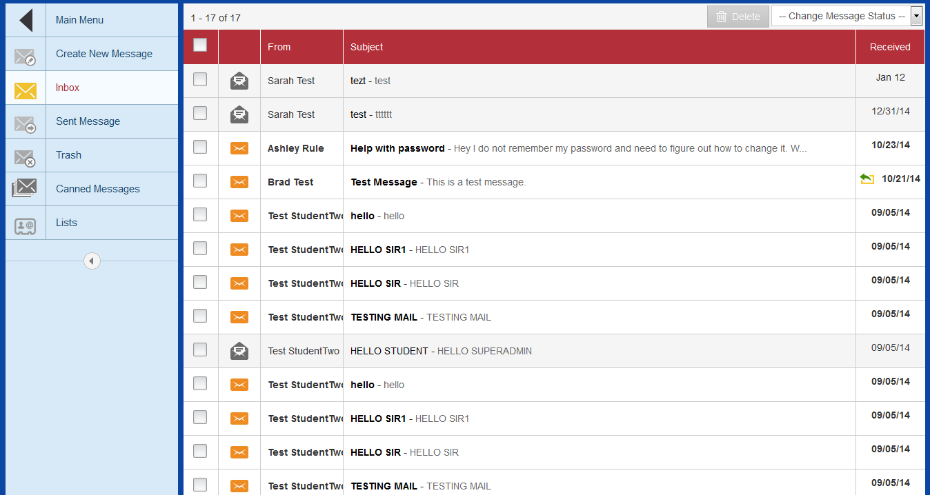 open source student information system surge robust built in messaging system